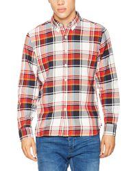 Levi's LS Pacific No Pkt Shirt Camisa - Rojo