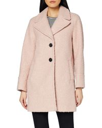 Dorothy Perkins Boucle One Button Coat tel - Pink