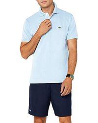bd4e4f879c09 In saldo Lacoste - T-Shirt Polo Uomo - Lyst