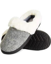 Dunlop Hausschuhe - Grau