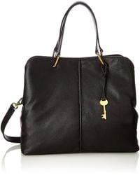 Fossil Damentasche ? Lane Satchel - Black