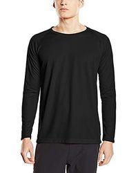 adidas Stedman Apparel Active 140 - T-shirt da uomo - Nero