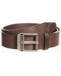 DIESEL Bluestar Belt - Brown