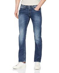 Replay Grover Straight Jeans - Blau