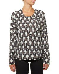 True Religion Wmns Roundneck Sweater Little Skull Maglione - Multicolore