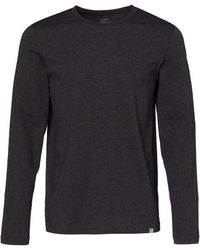 CARE OF by PUMA Long Sleeve Cotton T-shirt - Gray