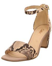Gabor Unicorn s High Heeled Sandals 5 UK/38 EU 52 Python-beige Prin - Natur