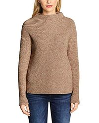 Street One Pullover - Natur