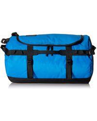 The North Face Base Camp Sac avec poche zippée XS Bleu clair/noir