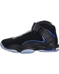 b129dd778faa2 Air Penny Iv Black/black Basketball Shoe 9 Us