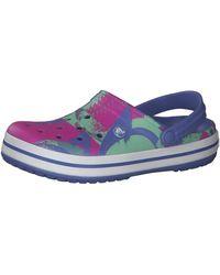 Crocs™ Adulto Crocband Ombreblock Clogs - Azul