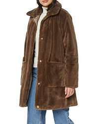 Geox W Kaula Z Coat - Brown