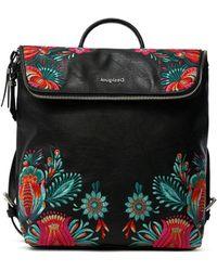 Desigual PU Backpack Medium - Nero