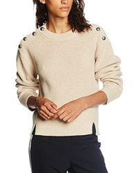 Filippa K - Button Rib Pullover Jumper - Lyst