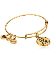 ALEX AND ANI - University Of Arizona Rafaelian Bangle Bracelet - Lyst