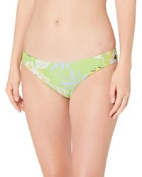 Seafolly On Vacation Hipster Slip Bikini, - Verde
