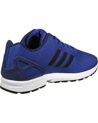 buy online 184c9 759b7 Zx Flux Trainers - Blue