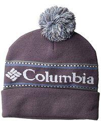 Columbia Csc Logo Beanie, Dusty Purple, O/s