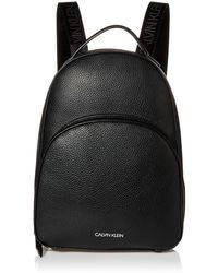 Calvin Klein Backpack Estelle Novelty Rucksack - Schwarz