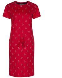 Regatta Great Outdoors S/ladies Harissa Cotton Summer Dress - Red
