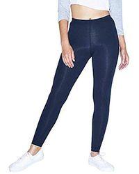 American Apparel - Cotton-spandex Jersey Legging - Lyst