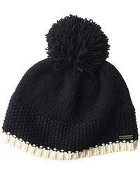Billabong Zoe Beanie Hat, Black, One Size