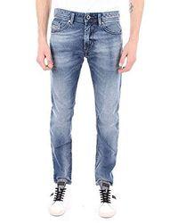 DIESEL Pantalon - Bleu