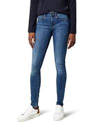 G-Star RAW 3301 D-mid Waist Super Skinny Jeans - Blau