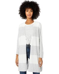 Goodthreads Mid-Gauge Stretch Cocoon Sweater Pullover - Gris