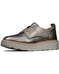 Clarks Trace Tassel Suede Shoes in Black Standard Fit Size 4