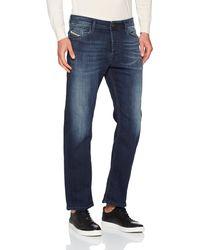 DIESEL Herren Waykee 814W Jeans, Blau