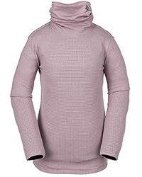 Volcom Womens Tech Funnel Fleece - Purple