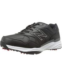 Nbg1701 Spiked Golf Shoe in Black