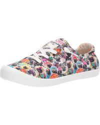 Skechers Damen Beach Bingo-Felix The Cat Moods Sneaker - Mehrfarbig