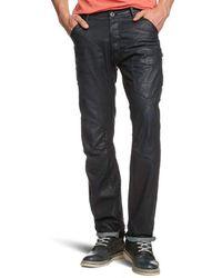 G-Star RAW - Biker 5620 3D Tapered Jeans - Lyst