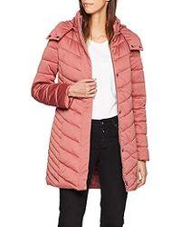 Esprit - 108ee1g004, Abrigo Mujer, Rosa (Dark Old Pink 675), X-Large - Lyst