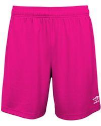 Umbro Erwachsene Field Shorts - Pink