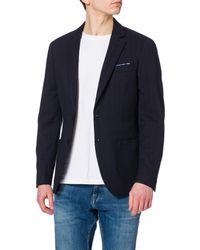Scotch & Soda The Classic Suit Blazer - Blu