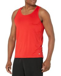 Amazon Essentials Tech Stretch Tank athletic-shirts - Rouge