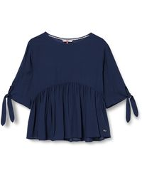 Tommy Hilfiger - Tjw Bow Detail Dobby Blouse Camicia - Lyst