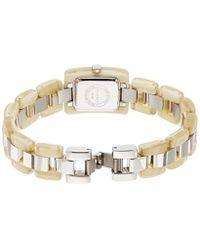 Esprit Quartz Watch With Silver Desert Tortoise Analogy Quartz Stainless Steel - Metallic