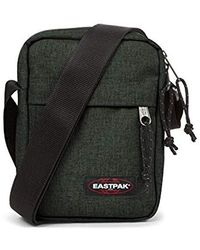 Eastpak The One Bolso Bandolera 21 Centimeters 2.5 Verde (Crafty Moss) - Multicolor