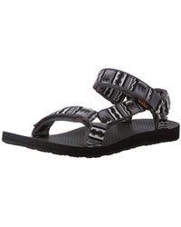 0200b62020ea Teva Original Universal Sports And Outdoor Lifestyle Sandal in Black ...