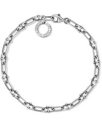 Thomas Sabo S s-Charm-Bracelet Charm Club Argent Sterling 925 X0255-637-21-L20 - Métallisé