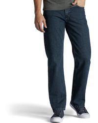 Lee Jeans Regular Fit Bootcut Jean - Blue