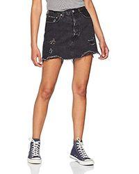 Levi's Deconstructed Skirt Falda para Mujer - Multicolor