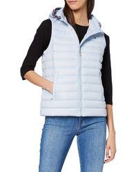Tommy Hilfiger Th Essential Lw Dwn Pack Vest Jacke - Blau