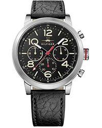 Tommy Hilfiger - 1791232 Jake Analog Display Japanese Quartz Black Watch - Lyst