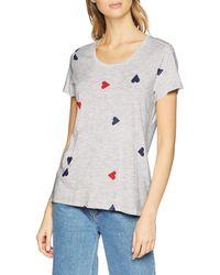 Scotch & Soda Maison Allover Printed S/s Tee T-Shirt - Multicolore