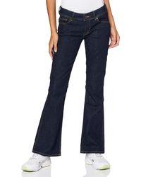 Pepe Jeans New Pimlico Jeans a Zampa - Blu